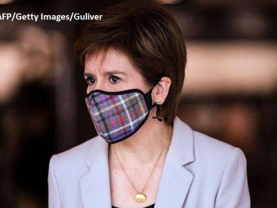 Felul în care premierul Scoției a gestionat pandemia generează o creștere a sprijinului pentru independență. Sturgeon:  Mergem pe o cale pe care nu am ales-o