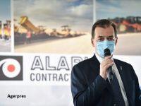 """Lucrările pentru construcţia lotului 2 al Centurii Bucureşti Sud au demarat marți. Orban: Orban: """"Centura Capitalei este finanţată de la bugetul UE"""""""