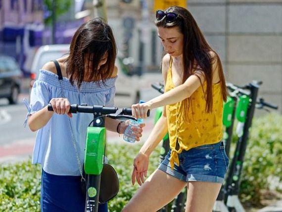 Lime a lansat serviciul de închiriere de trotinete electrice în Cluj-Napoca