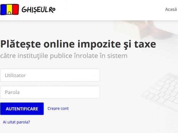 Taxele pentru pașaport, permis de conducere și certficat de înmatriculare pot fi achitate pe platforma Ghişeul.ro