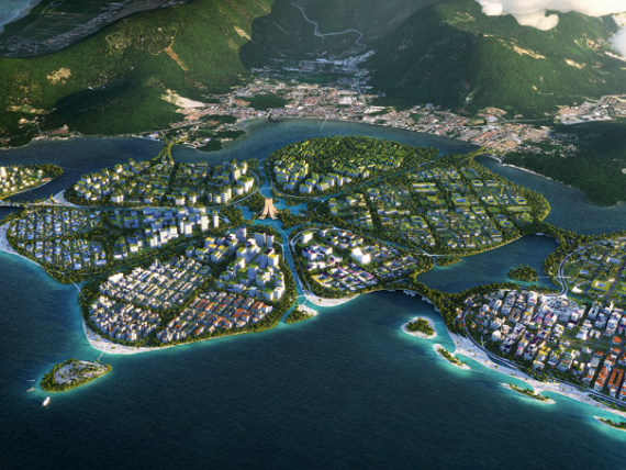 Țara care își extinde teritoriul cu trei insule pe care nu vor circula mașini și care vor fi alimentate doar cu energie  verde . Câți oameni vor găzdui
