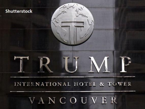 Hotelul Trump Tower din Vancouver, cu datorii de 5 mil. dolari, dă faliment din cauza pandemiei, cu două luni înaintea alegerilor prezidenţiale americane
