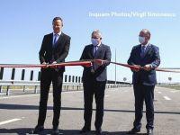 România s-a legat de Ungaria cu încă o autostradă. CNAIR a deschis circulației tronsonul dintre Biharia şi Borş, parte a Autostrăzii Transilvania