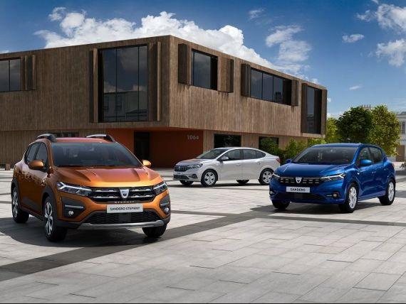 Cât vor costa noile modele Dacia Logan, Sandero şi Stepway și de când vor fi disponibile. Producătorul de la Mioveni a făcut publice noile prețuri