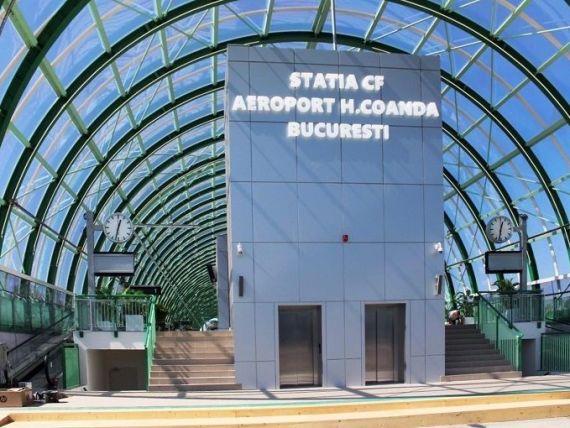 Un singur tren va duce călătorii de la Gara de Nord la Aeroportul Otopeni, din 50 în 50 de minute. Când va fi dată în folosință linia de cale ferată