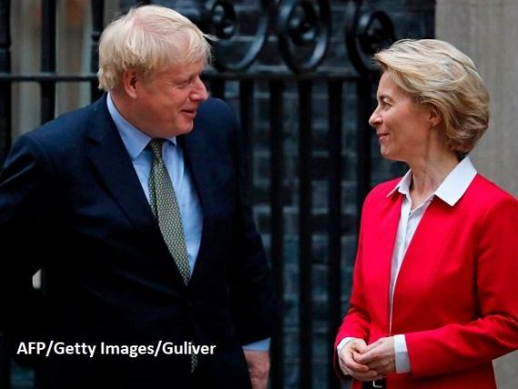 Ursula von der Leyen îi răspunde lui Boris Johnson cu un citat din Margaret Thatcher:  Regatul Unit nu îşi încalcă tratatele. Asta ar fi rău pentru Marea Britanie