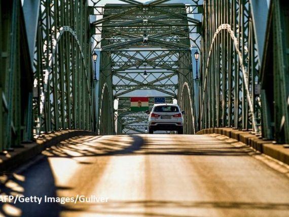 Ungaria şi Slovacia au inaugurat un nou pod peste Dunăre. Până în 2025, cele două țări vor să se lege prin nouă autostrăzi