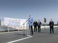 """Încă 18 km din Autostrada Transilvania, inaugurați în prezenta președintelui: """"Infrastructura din România a rămas mult în urmă, nu prea s-a vrut să se dezvolte"""""""