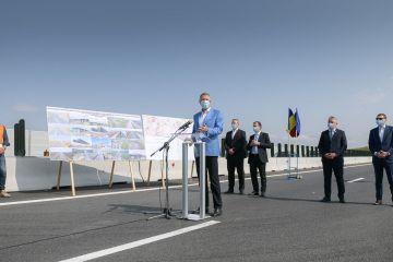 Încă 18 km din Autostrada Transilvania, inaugurați în prezenta președintelui:  Infrastructura din România a rămas mult în urmă, nu prea s-a vrut să se dezvolte
