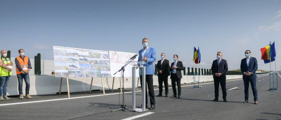 Încă 18 km din Autostrada Transilvania, înaugurați în prezenta președintelui:  Infrastructura din România a rămas mult în urmă, nu prea s-a vrut să se dezvolte