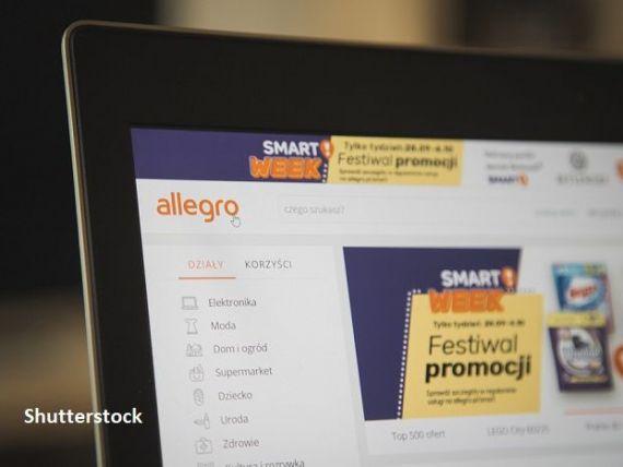 Debut fulminant pe bursă pentru gigantul online Allegro, denumit și  Amazonul  polonez. Devine cea mai valoroasă companie listată la Varșovia, după ce acțiunile au urcat cu 60%