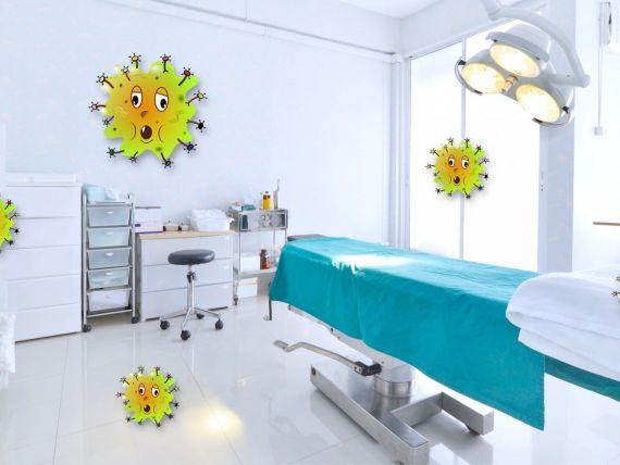 (P) Dezinfectarea dispozitivelor medicale și a suprafețelor