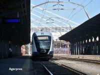 Trenul care va lega Gara de Nord de Aeroportul Otopeni va circula cu călători din 12 decembrie