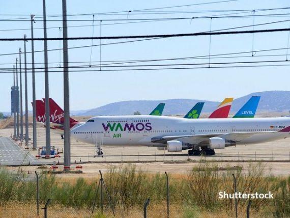 Aeroportul  fantomă  din Spania care a devenit  cimitir  pentru avioanele rămase la sol din cauza pandemiei