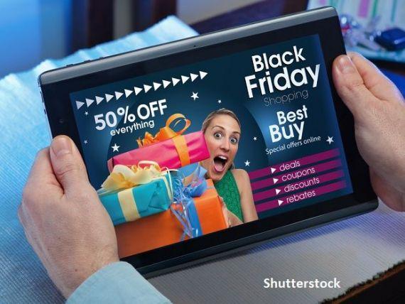 Magazinele online se așteaptă la o creștere a vânzărilor între 20 și 80% de Black Friday, în funcție de domeniu. Ce-și vor cumpăra românii în  vinerea neagră