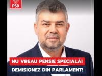 Concurs de demisii din Parlament, în prag de alegeri:  Nu vreau pensie specială