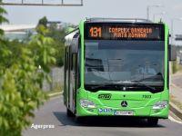 Ultima tranşă din cele 130 de autobuze Mercedes Citaro Hybrid achiziţionate de Primăria Capitalei intră în circulaţie din 1 decembrie