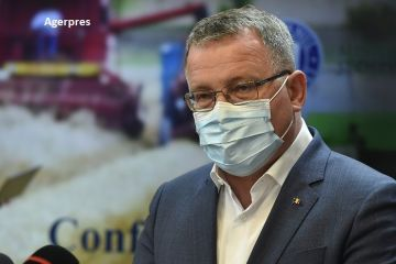 Ministrul Agriculturii, diagnosticat cu COVID-19