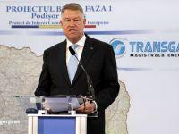 Iohannis: Prin exploatările offshore din Marea Neagră și interconectarea gazoductului BRUA, România are atuuri veritabile pentru a deveni un important jucător în regiune pe piaţa gazelor
