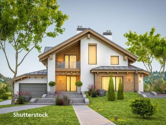 Peste două treimi dintre tranzacţiile imobiliare din ultimele luni au fost realizate din fondurile proprii ale cumpărătorilor. Cererea pentru case a crescut cu 50% faţă de anul trecut