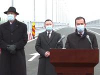 """Preşedintele şi premierul au inaugurat primii kilometri din A7 - varianta ocolitoare Bacău. Orban: """"Moldova va beneficia de ample proiecte de investiţii, în următorii 4 ani"""""""