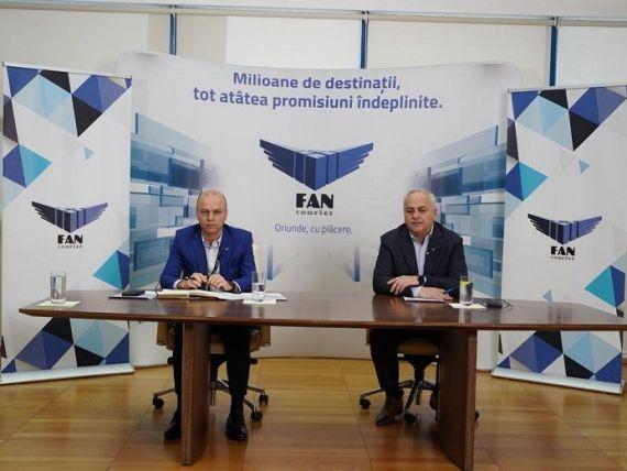 Afacerile FAN Courier se apropie de 1 mld. lei în 2020, cu 22% mai mult față de anul anterior. Investiții de 15 mil. euro și cu 10% mai mulți angajați, ca urmare a pandemiei