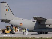 Băncile din România s-au gândit să folosească avioane militare pentru a alimenta cu numerar bancomatele, după ce zborurile din Europa au fost suspendate