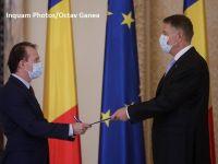 Membrii Guvernului au depus jurământul la Cotroceni. Cîțu: Nu voi înşela aşteptările românilor, sunt conştient de responsabilitatea pe care mi-au acordat-o de a guverna într-o perioadă dificilă