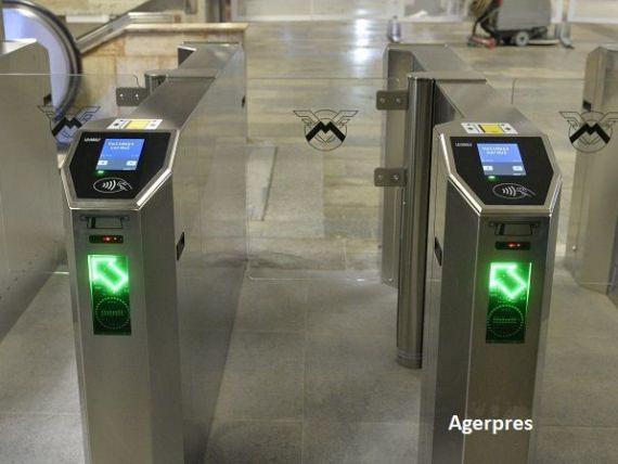 Metrorex introduce carduri contactless pentru accesul la metrou, din 24 decembrie