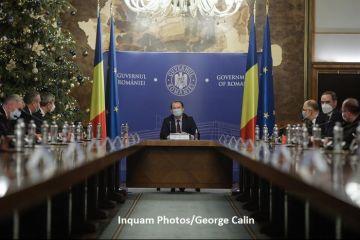 Guvernul se reunește, luni, în prima ședință în noua componență. Principalele proiecte aflate pe masa Executivului