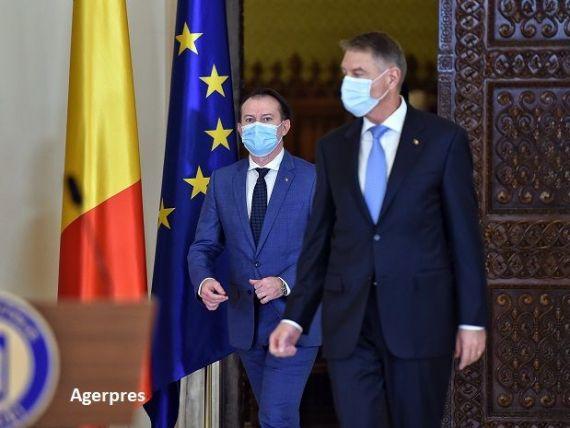 Klaus Iohannis se întâlnește, la Cotroceni, cu premierul Florin Cîțu și mai mulți miniștri