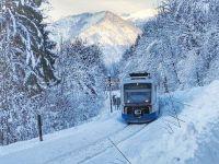 """""""Trenurile Zăpezii 2021"""" încep să circule din 4 ianuarie, cu reduceri de 25% pentru cele mai căutate destinații de pe Valea Prahovei şi Vatra Dornei"""