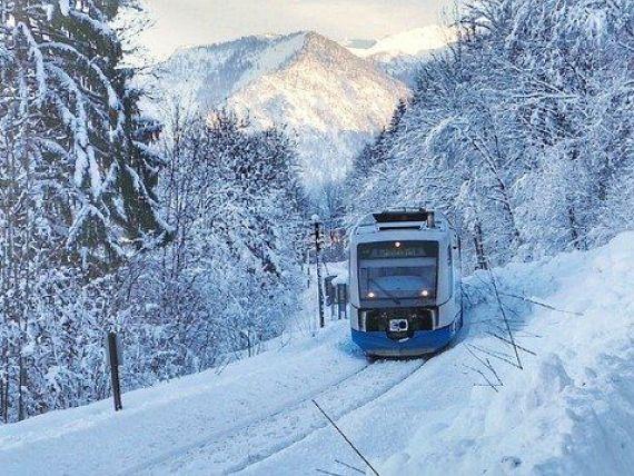 Trenurile Zăpezii 2021  încep să circule din 4 ianuarie, cu reduceri de 25% pentru cele mai căutate destinații de pe Valea Prahovei şi Vatra Dornei