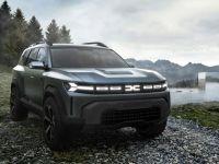 Dacia a prezentat Bigster, conceptul unui model SUV de 4,6 metri lungime. Marca românească schimbă logo-ul și intră pe segmentul C