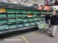 Magazinele din Marea Britanie încep să se confrunte cu o penurie de alimente, din cauza traficului vamal îngreunat de procedurile impuse după Brexit
