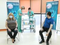 Președinții Senatului și al Camerei Deputaților s-au vaccinat împotriva Covid-19