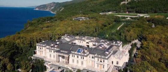Cum arată bdquo;Palatul lui Putin . Proprietatea de pe malul Mării Negre de 39 de ori mai mare decât statul Monaco
