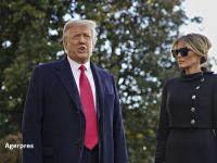 Donald Trump a părăsit Casa Albă, însoţit de Melania Trump. Este pentru prima oară în 150 de ani când în preşedinte în exerciţiu nu asistă la învestirea succesorului său