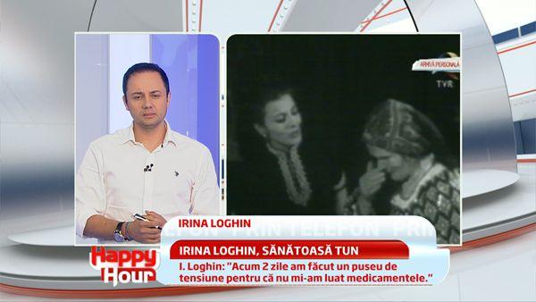 Irina Loghin e sanatoasa tun! Este in spital doar pentru niste perfuzii