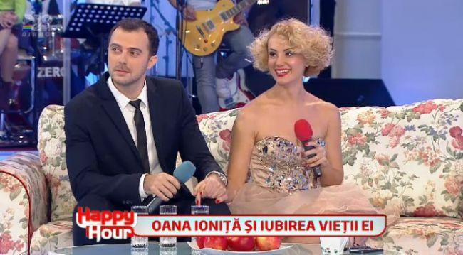 "Oana Ionita si iubitul ei, la ""Happy Hour"": ""O sa facem nunta in vara"""