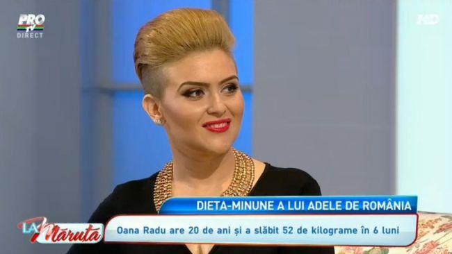 """Oana Radu a slăbit 30 de kilograme în 50 de zile: """"Dieta este inventată de Cătălin"""""""