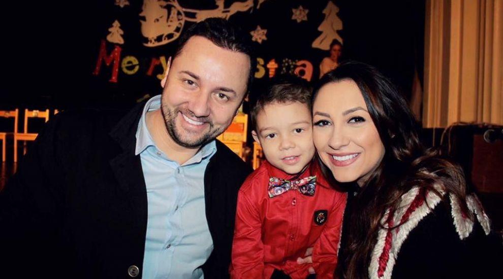Imagine de colectie cu familia Andrei si a lui Catalin Maruta. Cum s-au fotografiat cei doi parinti alaturi de copii