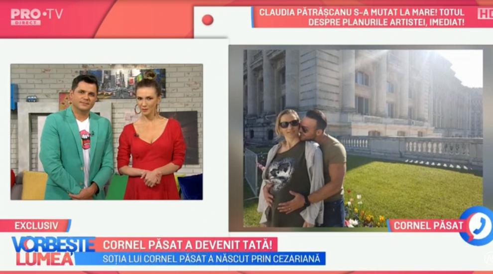 Cornel Păsat a devenit tată