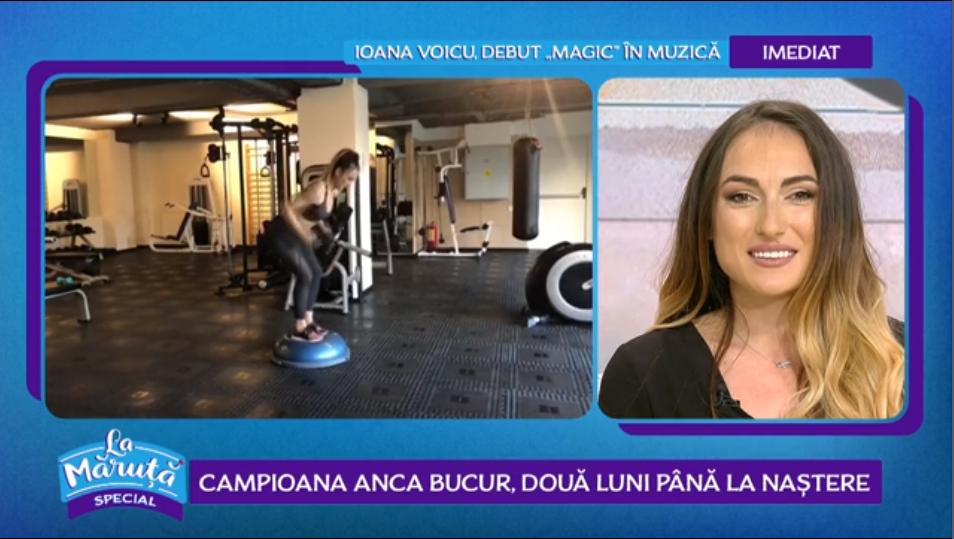 Campioana mondială la fitness și culturism, Anca Bucur mai are două luni până la naștere