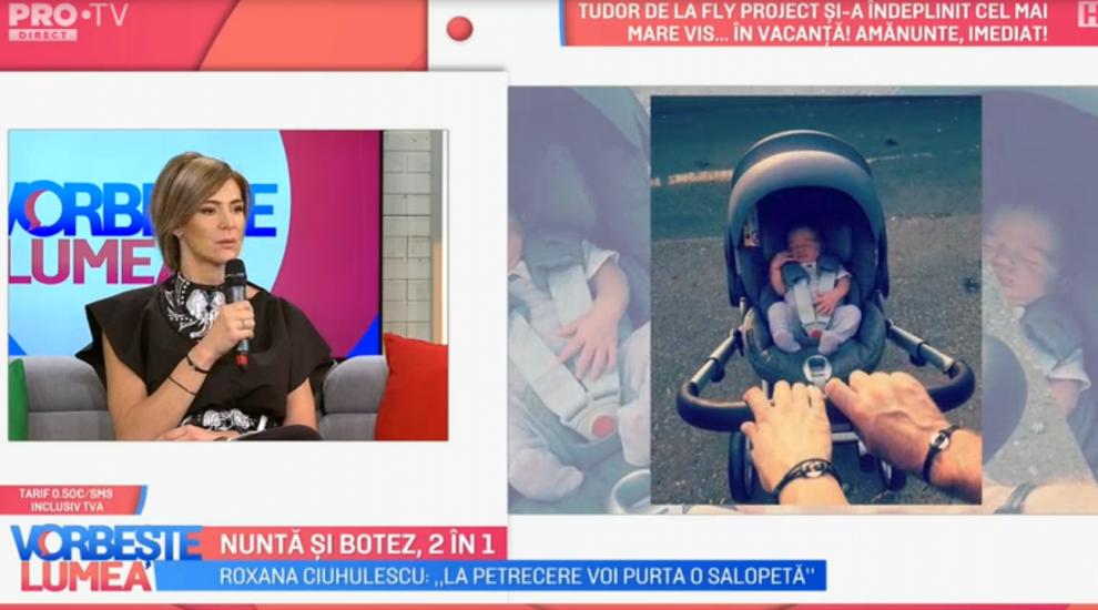 """VIDEO Roxana Ciuhulescu, ultimele pregătiri pentru nunta și botez: """"Nu pot să dorm noaptea, am emoții"""""""