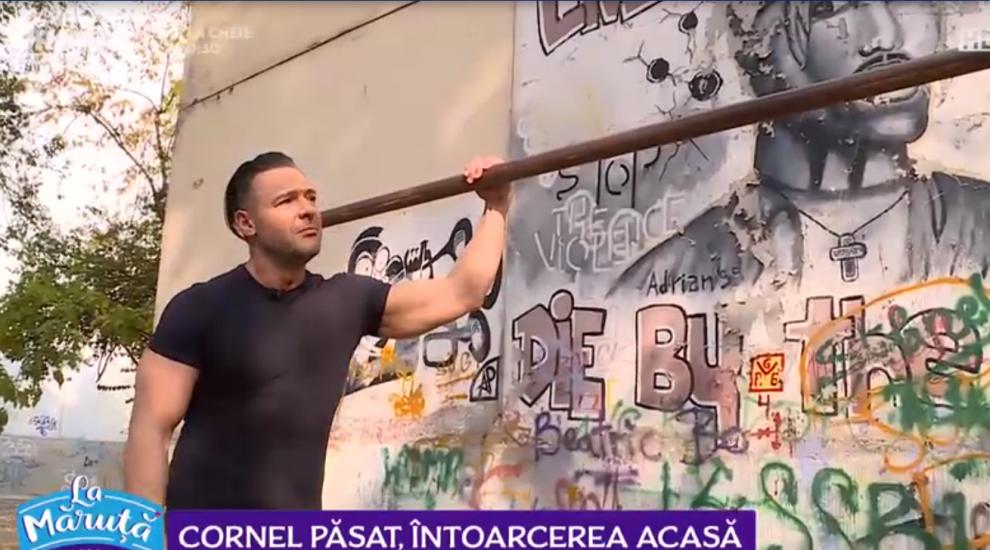 VIDEO Cornel Păsat, întoarcere acasă