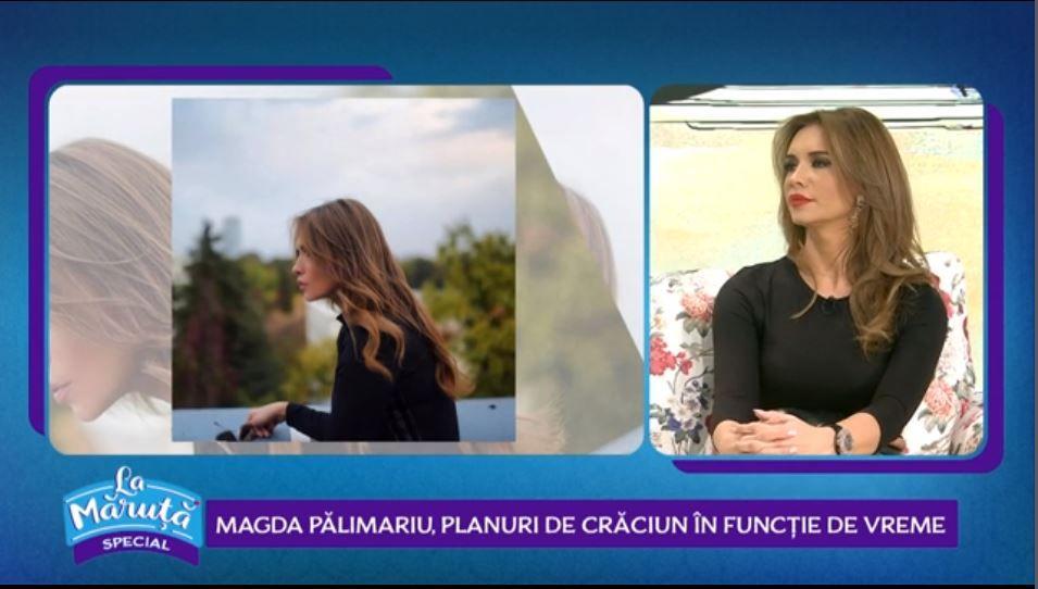 VIDEO Magda Pălimariu, despre planurile pe care le are de Crăciun