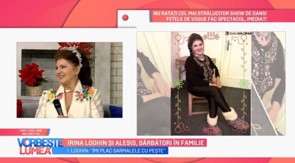 VIDEO Irina Loghin și Trupa Alesis au petrecut sărbătorile în familie