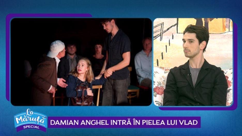 Damian Anghel, despre participarea sa în superproducția VLAD. Ce rol va avea