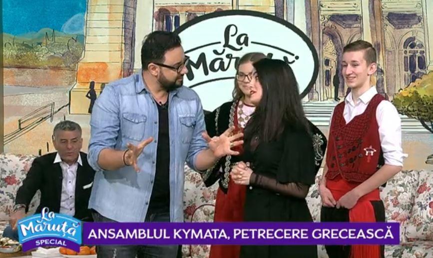 VIDEO Vrei să te simți grec pentru o zi? Ansamblul Kyamata te invită la o petrecere de proporții